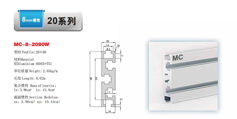 MC-8-2080W