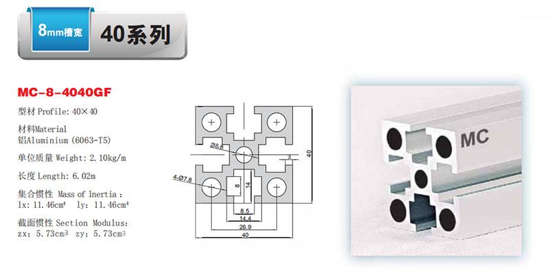 MC-8-4040GF