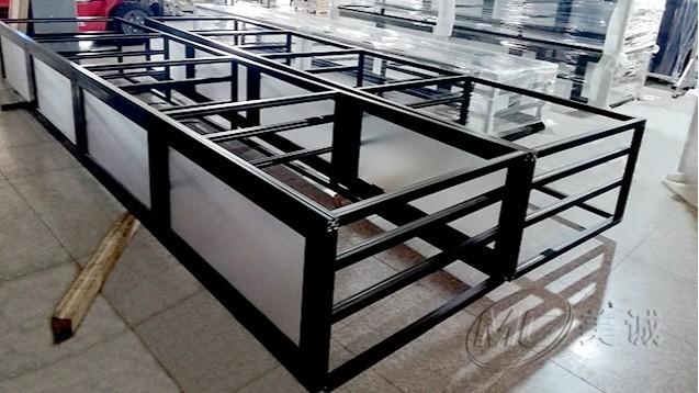 黑色铝型材移动电缆框架