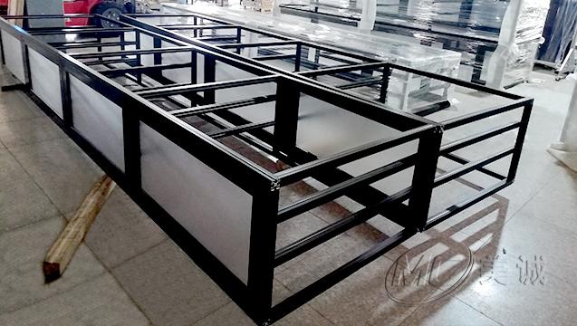 黑色铝型材移动电缆框架 二