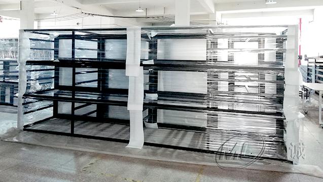 黑色铝型材移动电缆框架 三