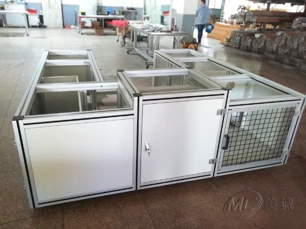 铝型材轴承装配设备机架