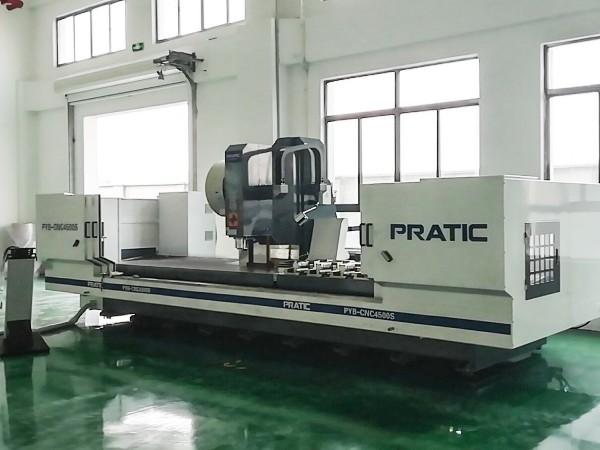 美诚铝业新购铝型材CNC加工中心