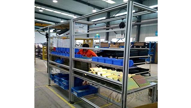铝型材物料货架