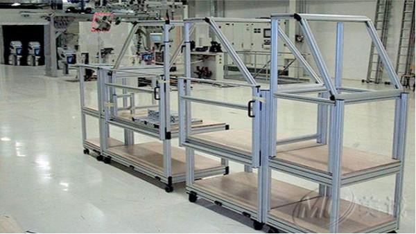 移动铝型材货架