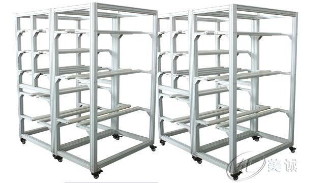 铝型材移动架子.