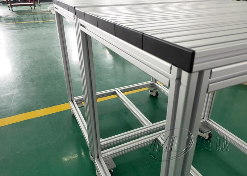 实验室操作台,铝型材框架