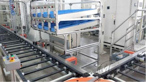 铝型材自动化输送线