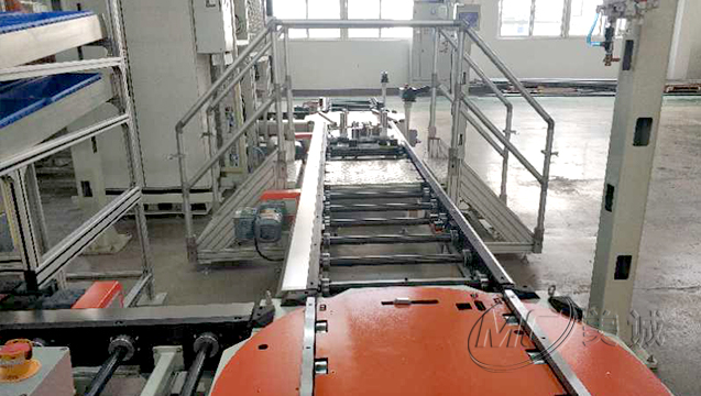 铝型材自动化流水线输送线车间 二