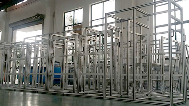 铝型材设备支架 二