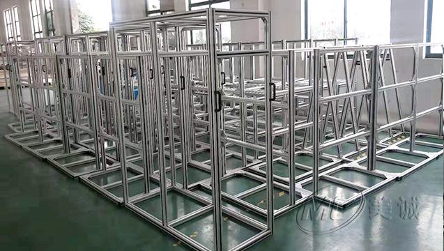 铝型材设备支架 三