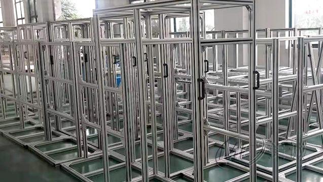 铝型材设备支架 四