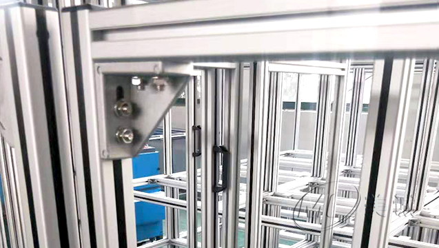 铝型材设备支架 五