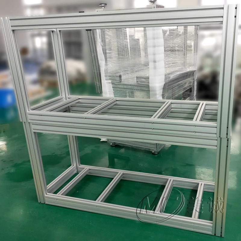 口罩机铝型材框架