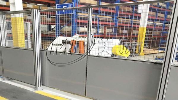 铝合金设备防护围栏
