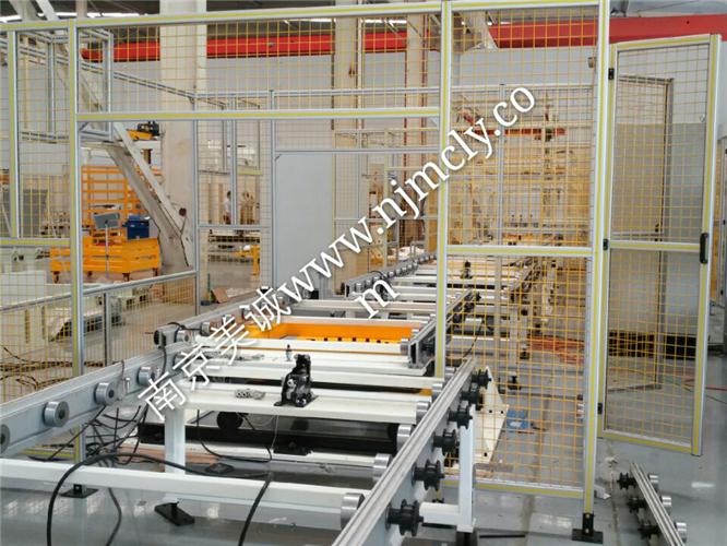 工业流水线防护栏