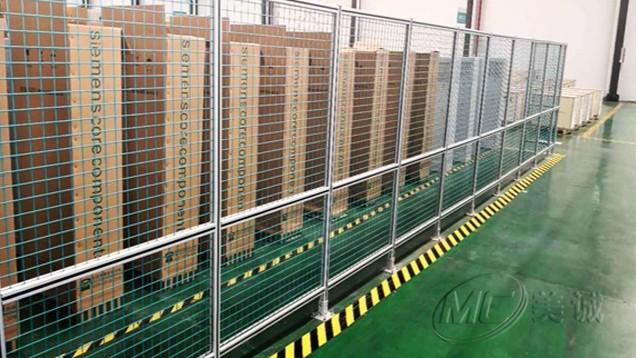 机器人网格围栏