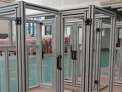 铝型材框架及设备质量提升方法