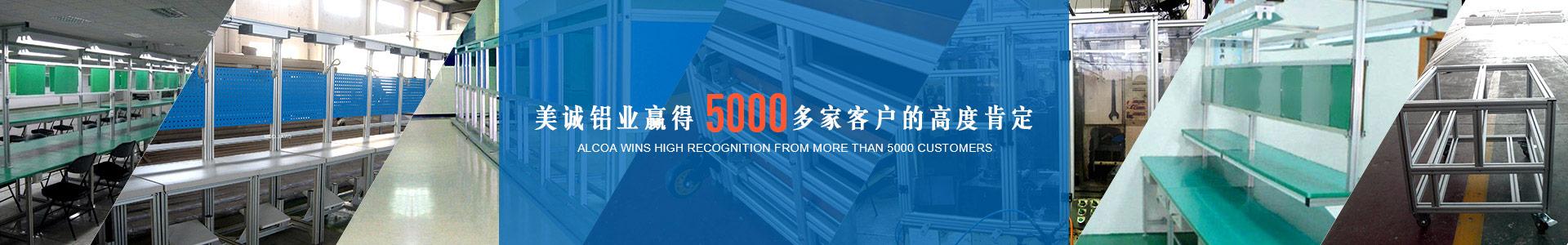 美诚铝业赢得5000多加客户的高度肯定