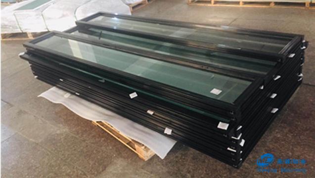 黑色喷塑工业铝型材门框