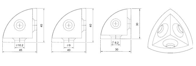 三维角件1