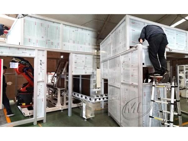 铝型材机器人设备防护罩
