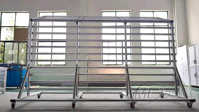 铝型材高光墙 四