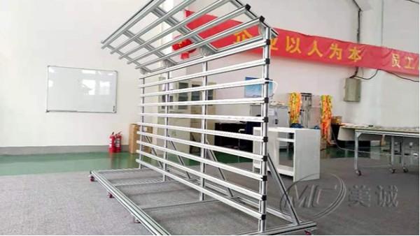 铝型材高光墙