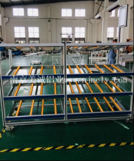 铝型材流利式货架功能和安装介绍02