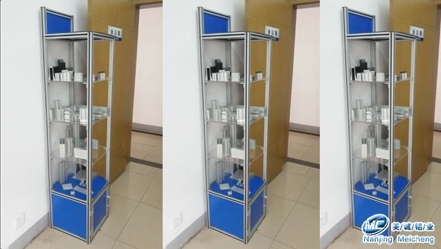 工业铝型材框架展柜