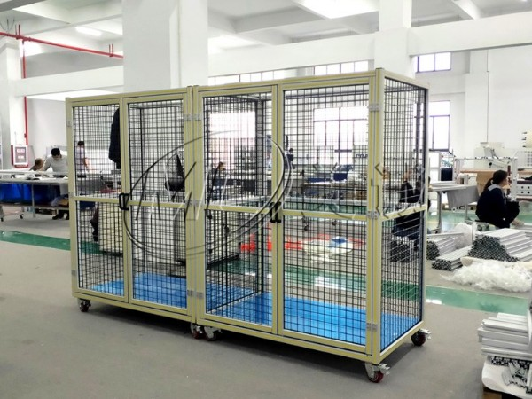 铝型材防护围栏