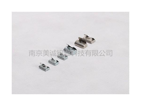 铝型材框架连接用角件代替螺栓螺母的优缺点