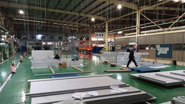 美诚铝业工业铝型材围栏框架