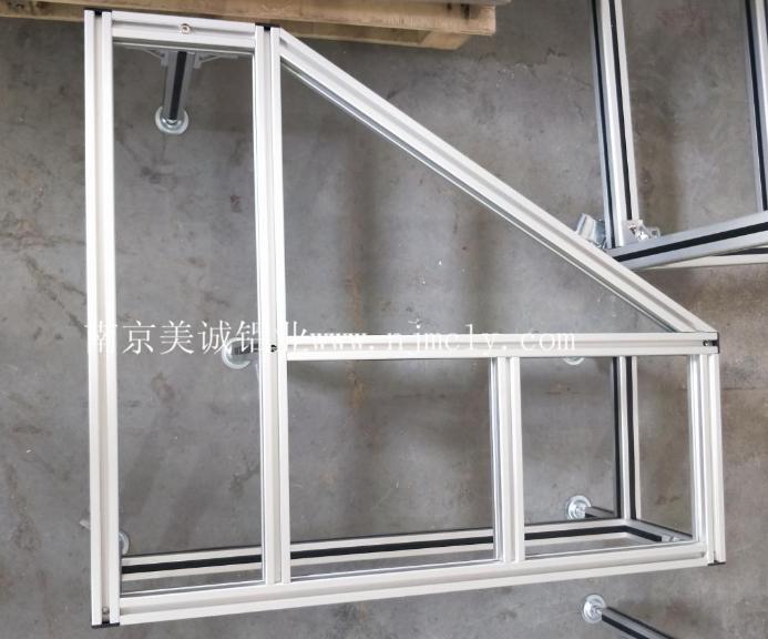 你知道氧化后的工业铝型材框架优点吗?03