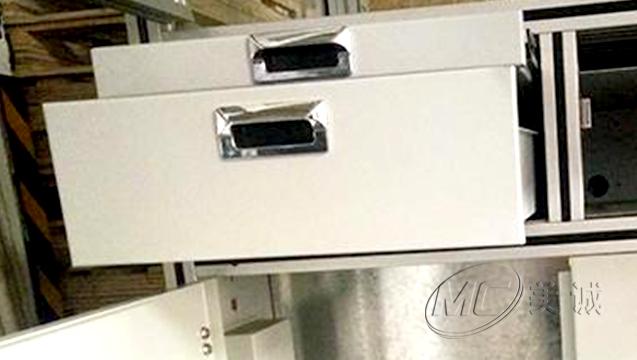 抽屉式铝型材工作台 二