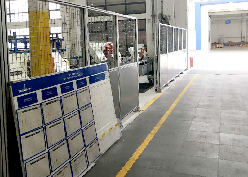 生产线防护围栏