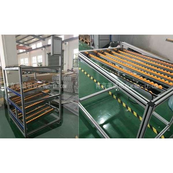 铝型材流利条货架的作用及优势