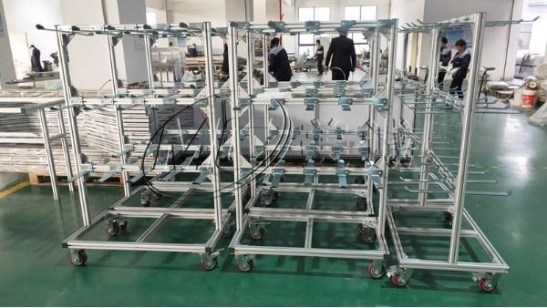 铝型材配线架