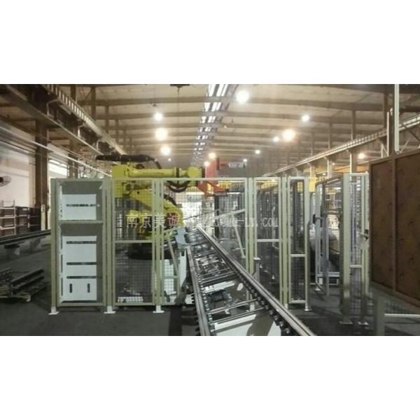南京美诚铝业可订制机器人安全围栏、工业自动化设备安全防护栏
