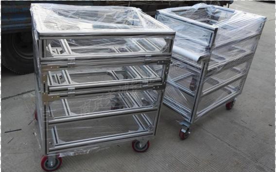 南京美诚铝型材物料架0021
