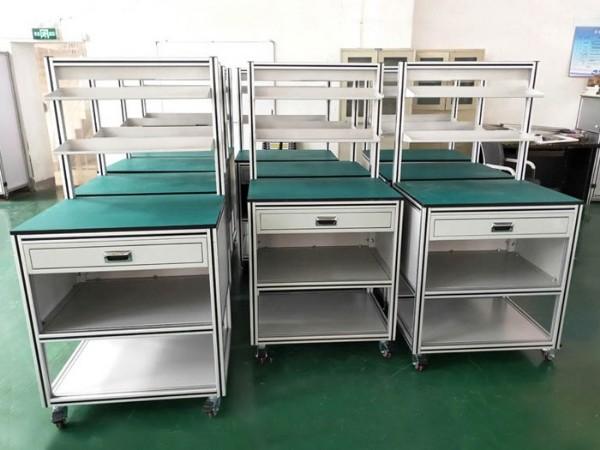 实验室工作台可以用铝型材吗?
