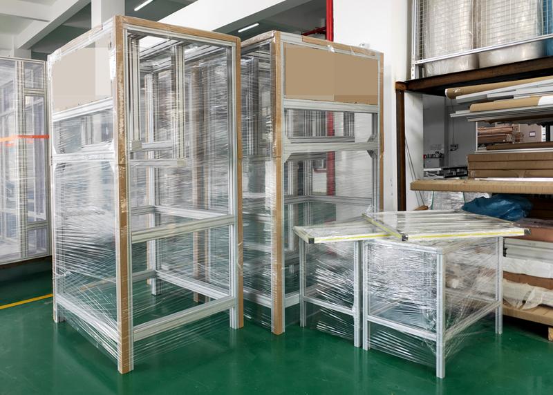 用铝型材定制的架子