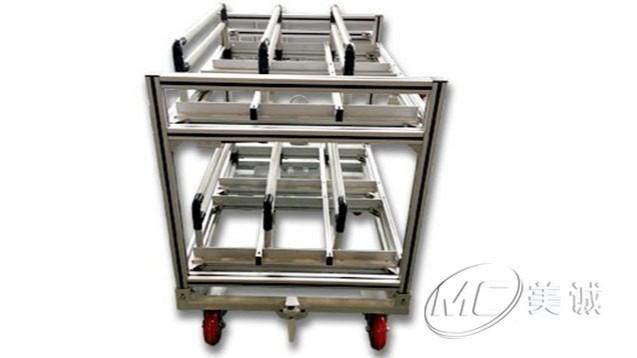 铝型材流利条物料架