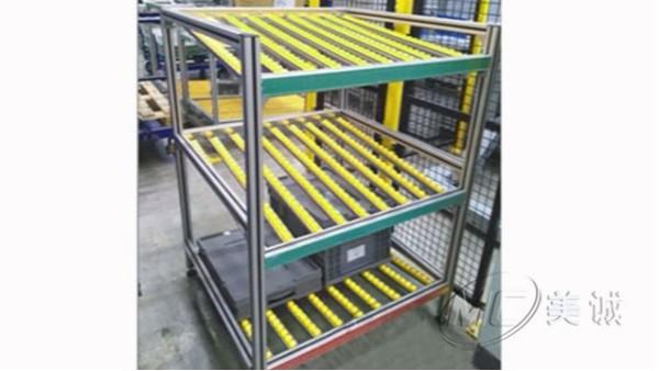 铝型材流利条货架