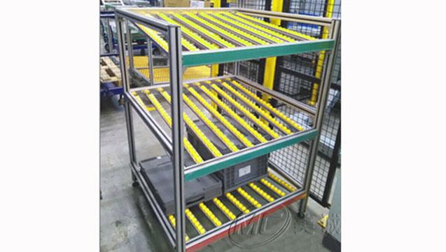 铝型材流利条货架.