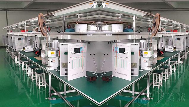 铝型材双排工作台.