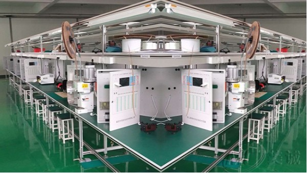 铝型材双排工作台
