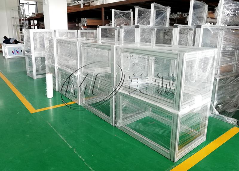 口罩机机架_出口铝型材