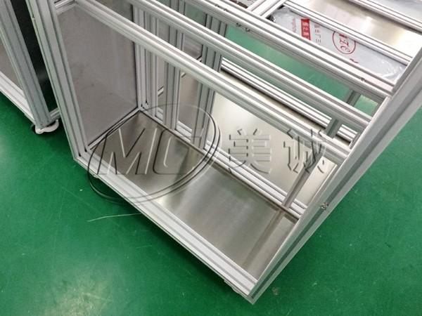铝合金架子如何安装