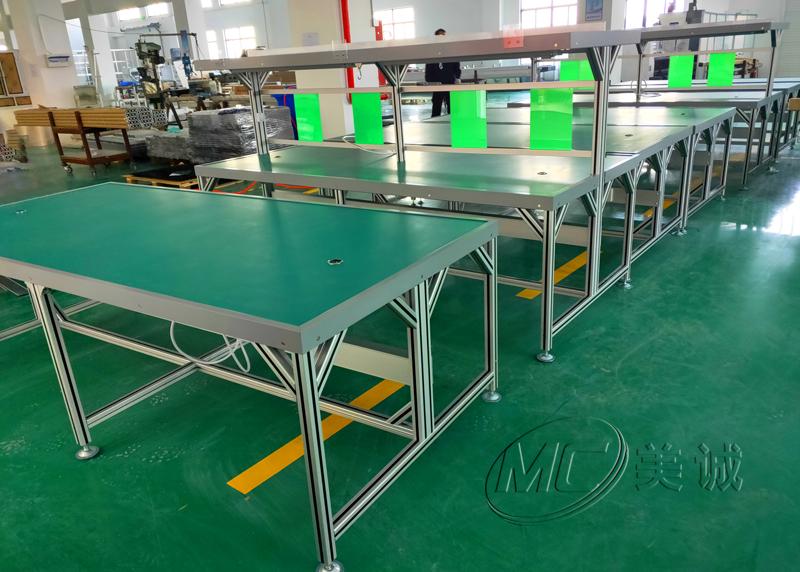 铝型材工作台自制